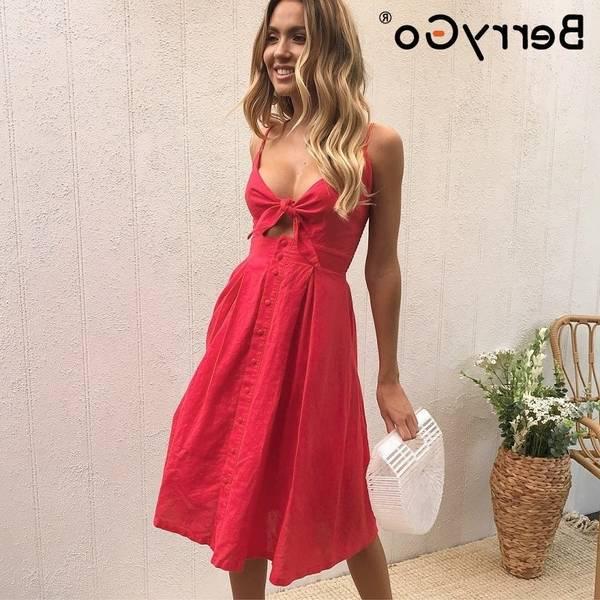 summer boho dresses for women
