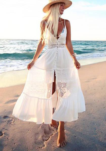 white hippie dresses for sale
