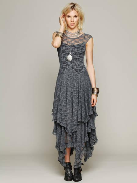 boho crop top wedding dress